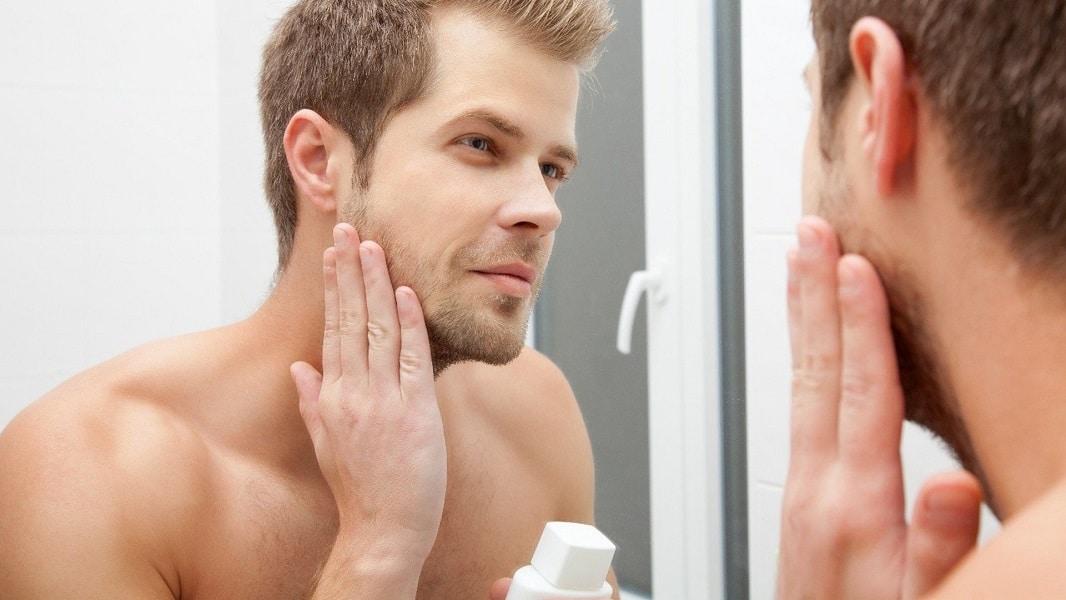 Peau et visage homme soin peau