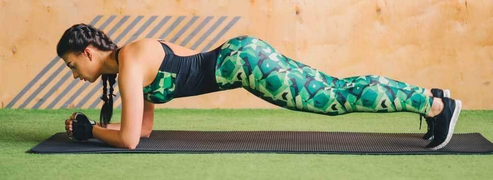 Exercice gainage abdos