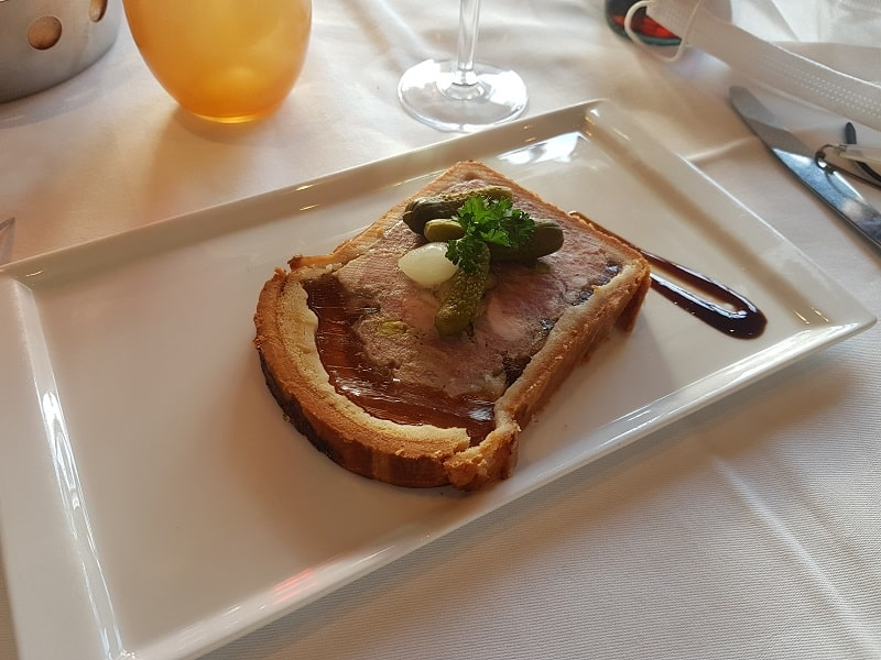 Brasserie/Restaurant Argenson Lyon - Entrée pâté-croute